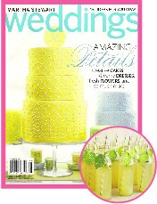 Martha Stewart Weddings Spring 2011