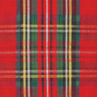 Red Plaid Tartan Luncheon Paper Napkins
