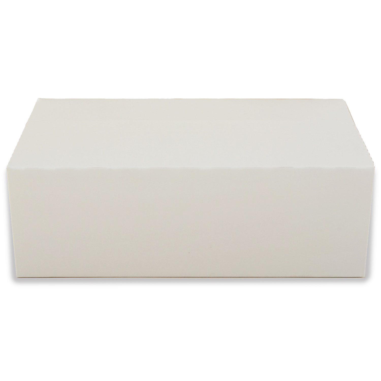 White Rectangular Paperboard Take Out Box Set Of 12