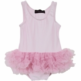 Pink Petti Bodysuit Delilah Rose Couture
