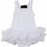 White Petti Bodysuit Delilah Rose Couture