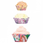 Utterly Scrumptious Floral Cupcake Cups