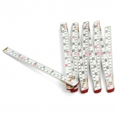 White Wooden Folding Ruler