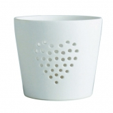 White Sweet Talk Porcelain Tealight