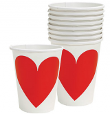 Key To Your Heart Paper Cups