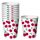 Cherry Hot/Cold Paper Cups