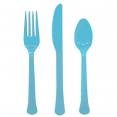 Caribbean Blue Extra Heavy Weight Cutlery Set of 20