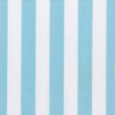 Baby Blue and White Stripe Luncheon Paper Napkins