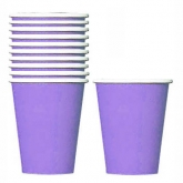 New Purple Paper Cups Set of 20
