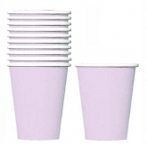 Lavender Paper Cups Set of 20