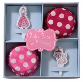 Princess Cake Cases and Toppers