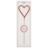 Red Heart Sparkler Wand