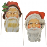 Father Christmas and Santa Claus Masks