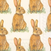 Eddie Easter Bunny Luncheon Paper Napkins