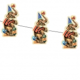 Circus Elephant Paper Garland