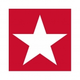 Red Star Beverage Paper Napkins