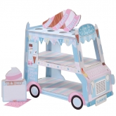 3 Tiered Ice Cream Truck Stand
