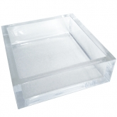 Chic Lucite Luncheon Napkin Holder
