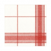 Red Belgian Airlaid Beverage Paper Napkins