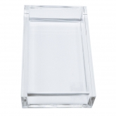 Chic Lucite Guest Towel Napkins Holder