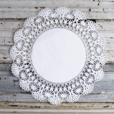 Romantic White Lace Doilies 3 Different Sizes