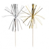 Gold and Silver Firecracker Party Picks