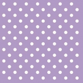 Lilac and White Small Polka Dots Luncheon Paper Napkins