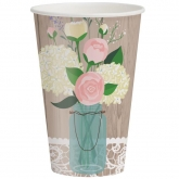 Lace Bouquet Paper Cups