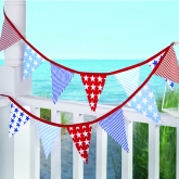 Stars and Stripes Fabric Flag Banner