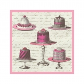 French Soiree Beverage Paper Napkins