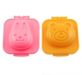 Bunny Rabbit and Teddy Bear Boiled Egg Mold
