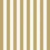 Gold and White Narrow Stripe Luncheon Paper Napkins