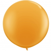 Oversized Orange 3ft Latex Balloon