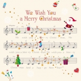 We Wish You a Merry Christmas Luncheon Paper Napkins