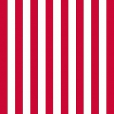 Red and White Narrow Stripe Luncheon Paper Napkins