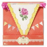 Truly Scrumptious Floral Scalloped Bunting
