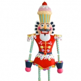 Colonel Cupcake Papermache Life Size Hanging Guard