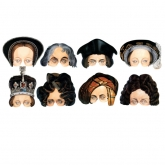 British National Portrait Gallery Paper Masks