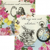 Alice in Wonderland Beverage Paper Napkins