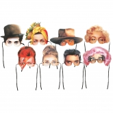 Glamourous Mask Collection Set of 8