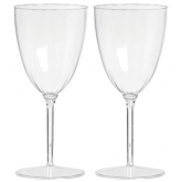 Clear Premium Quality Wine Goblets