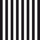 Narrow Black and White Stripes Luncheon Paper Napkins