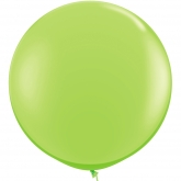 Oversized Lime Green 3ft Latex Balloon
