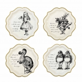Truly Alice Medium Paper Plates