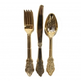 Gold Ornate Cutlery Set of 6