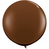 Oversized Chocolate Brown 3ft Latex Balloon