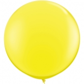 Oversized Yellow 3ft Latex Balloon