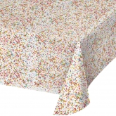 Sprinkles Plastic Tablecover