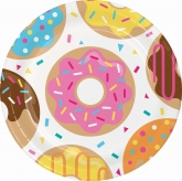 Donuts Dinner Paper Plates