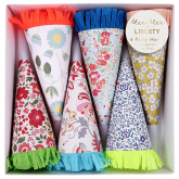 Assorted Liberty Party Horns Set of 6